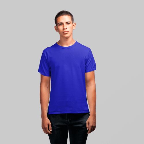 Мужская синяя футболка