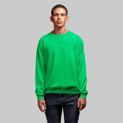 Мужской зеленый свитшот