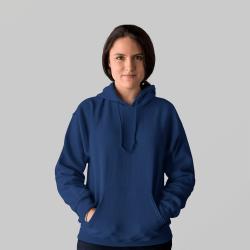 Женская темно-синяя толстовка