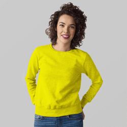 Женский желтый свитшот
