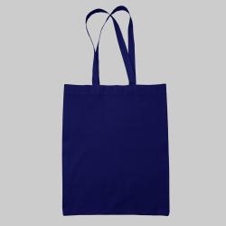 Темно-синий шоппер